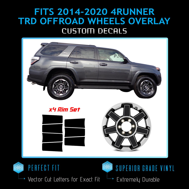 2007-2013 Toyota Tundra TRD Hood Blackout Stripes Decal Fully Custom Style 3